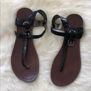 Kelly & Katie Black Sandals
